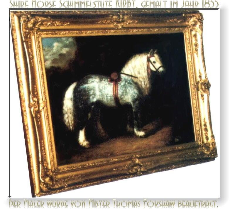 Herzlich Willkommen auf dem <b>Tinker Pony und Shire Horse Hof</b> - Wir bringen Ihnen das Shire Horse und seine lange Geschichte näher.